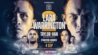 Watch Boxing Lara Vs Washington 2 9/4/21