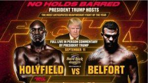 Watch Triller Fight Club III : Evander Holyfield vs Belfort 9/11/21