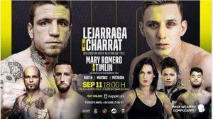 Watch Boxing Lejarraga v Charrat 9/11/21