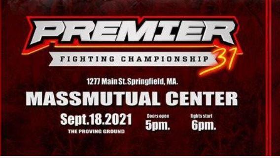 Watch Premier FC31 Tournament Fight Night 9/18/21