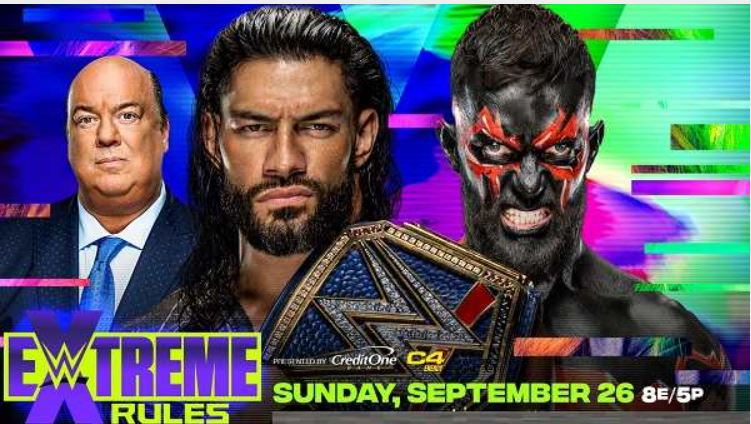 Watch WWE Extreme Rules 2021 9/26/21