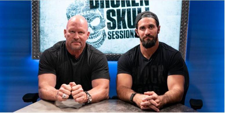 Watch WWE Steve Austins Broken Skull Session : Seth Rollins