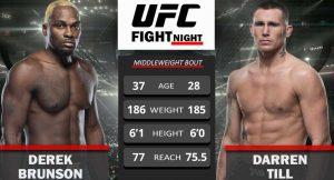 Watch UFC Fight Night: Brunson vs. Till 9/4/21