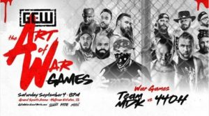 Watch GCW Art of War Games 9/4/21