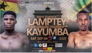 Watch Boxing Alfred Lamptey vs Iddi Kayumba