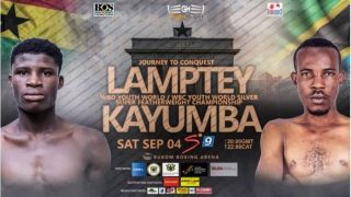 Watch Boxing Alfred Lamptey vs Iddi Kayumba 9/4/21