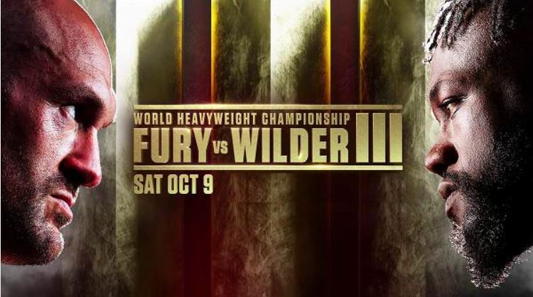 Watch Fury Vs Wilder 3 10/9/21