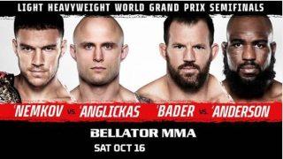 Watch Bellator 268 Nemkov v Anglickas 10/16/21