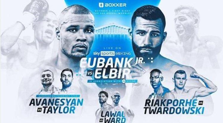 Watch Eubank Jr v Muratov 10/2/21