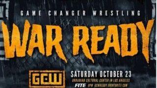 Watch GCW War Ready 10/23/21