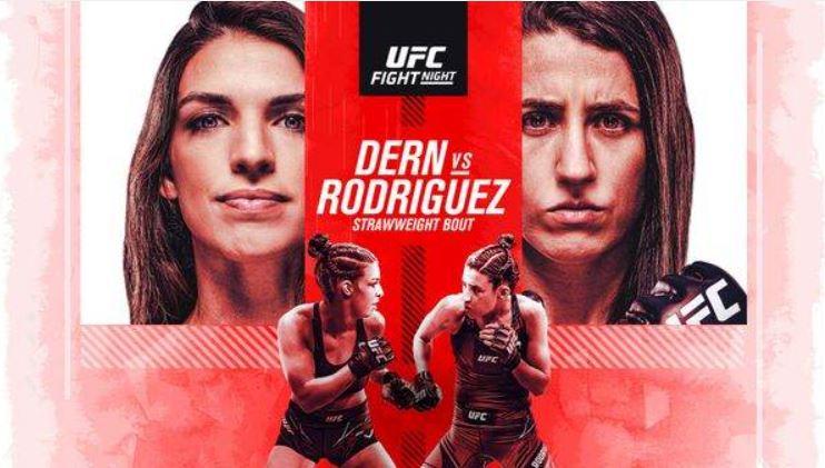Watch UFC Fight Night: Dern vs. Rodriguez 10/9/21