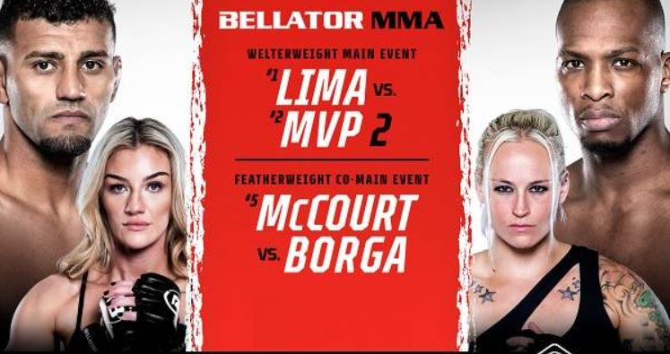 Watch Bellator 267 Lima Vs MvP 2 10/1/21
